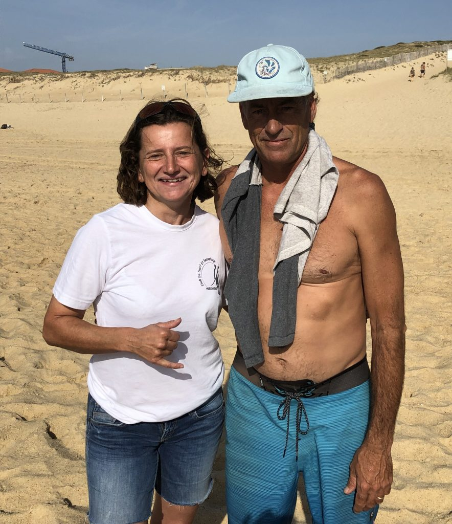 Club surf et sauvetage mérignac - caroline faucher