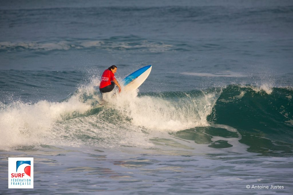 Club de surf et sauvetage mérignac Caroline Faucher